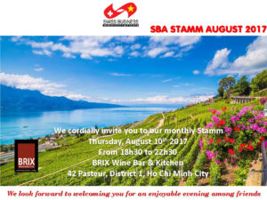 Stamm in Aug. at BRIX