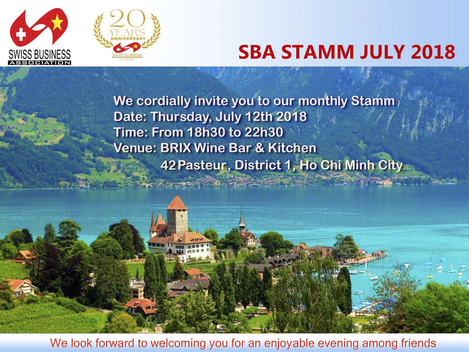 Stamm at Brix-July