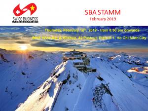 SBA Stamm February 2019