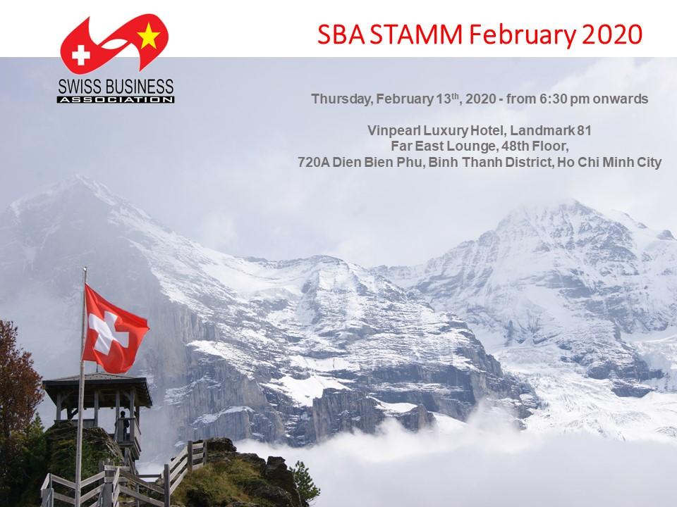 SBA Stamm February 2020